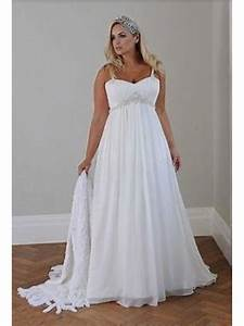 empire chiffon plus size maternity wedding dresses bridal With plus size maternity wedding dresses