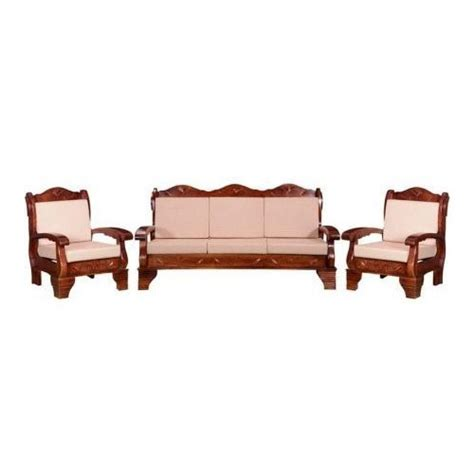 Antique Wooden Sofa by Brown And White 5 Seater Antique Wooden Sofa Set Rs