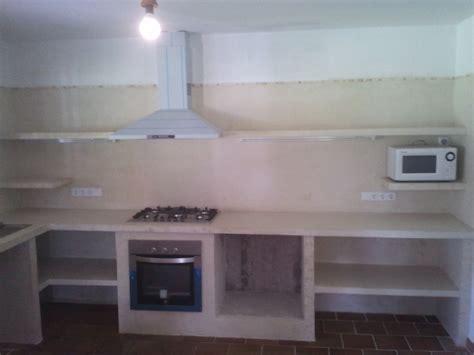 reformas julio camarena cocina  cemento pulido