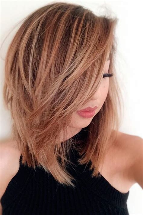 38 Hairstyles For Medium Length Layered Hair 2019 Koees Blog