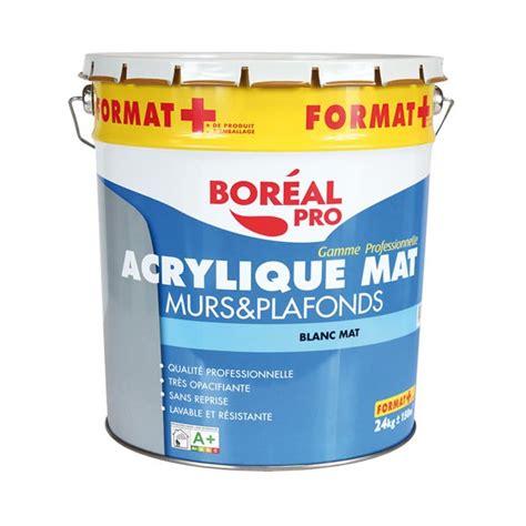 peinture acrylique mur et plafond 20 4 kg boacmat24 boreal home boulevard