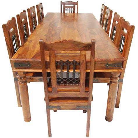large wood dining table with bench large wooden dining table and chairs home design 89