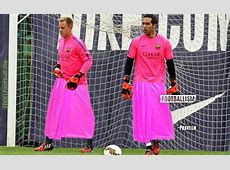 FC Barcelona new goalkeeper kit from next match Troll