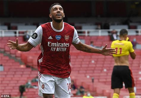Arsenal skipper Pierre-Emerick Aubameyang plotted shock ...