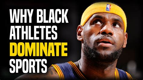 Why Black Athletes Dominate Sports  Jon Entine And Stefan