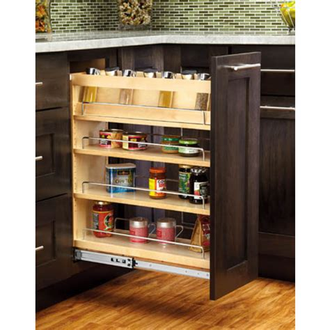 pull out spice rack base cabinet cabinet organizers adjustable wood pull out organizers