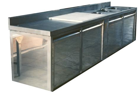 meuble de cuisine en inox réparation meuble cuisine inox alimentaire arti steel