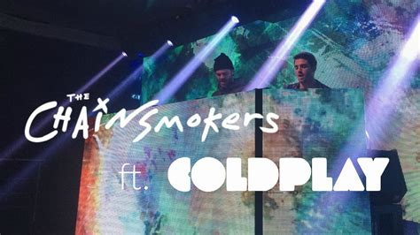 Coldplay Collaborate With The Chainsmokers For 'something