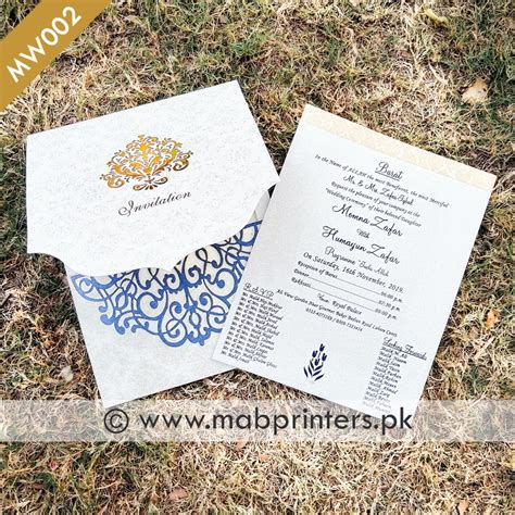 stylish pakitani wedding cards wedding invitations