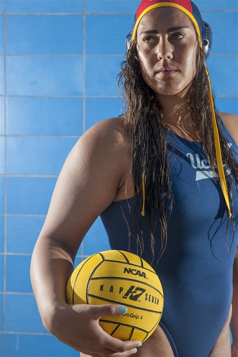 womens water polo goalkeeper shows olympic promise