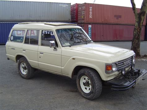 1984 Toyota Land Cruiser by 1984 Toyota Land Cruiser Pictures Cargurus