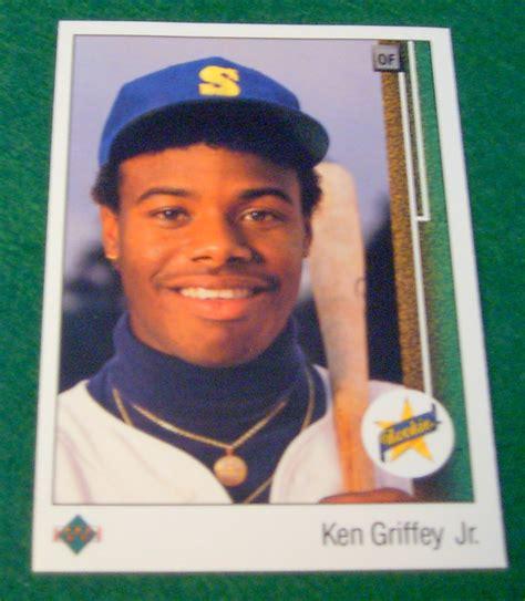 1990 Deck Ken Griffey Jr Value by 1989 Deck Ken Griffey Jr Rookie Card Corner Store