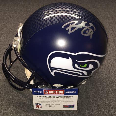 nfl auction nfl seahawks bobby wagner signed seahawks