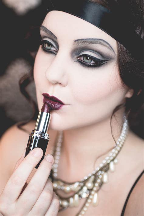 isadora halloween  great gatsby  makeup