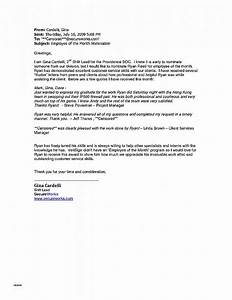 letter of recommendation unique sample recommendation With employee of the year award letter