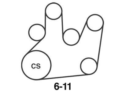 Vw Passat Alternator Diagram by Vw 1 9 Tdi Passat T Reg Serpentine Belt Diagram Fixya