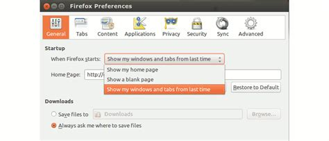 How To Resume In Chrome Browser by Resume Last Browsing Session In Chrome Firefox Opera And