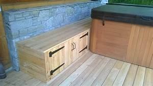 Spa Bois Exterieur : nbc bois am nagement ext rieur autour d un spa ~ Premium-room.com Idées de Décoration