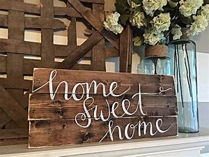 Home, Decor, Hand, Painted, Wood, Sign, Rustic, Decor