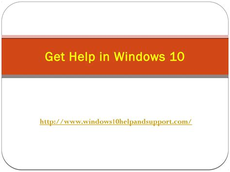 Get Help In Windows 10 Help And Support By Robert Smith