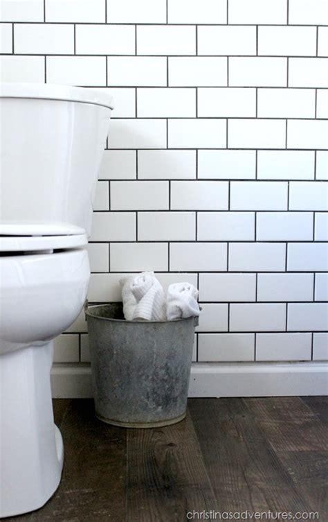 Kitchen Flooring Tile Ideas - small bathroom makeover christinas adventures