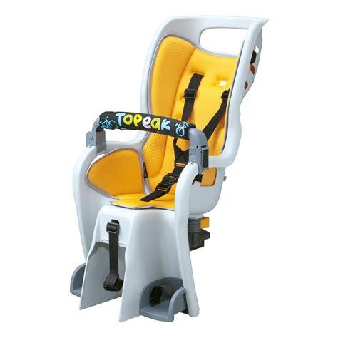 sieges enfants sièges enfant topeak babyseat ii and rack wiggle
