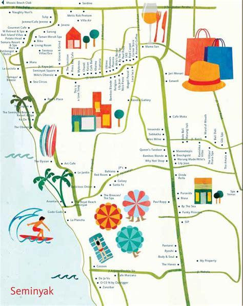 astrid prasetainati map  seminyak bali  hellobali