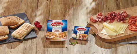 toast alla mozzarella nos fromages  litalienne galbani