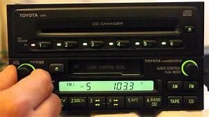 Toyota  Matsushita  A56409 Cassette Player   Toyota  Fujitsu Ten  34248 Cd Changer