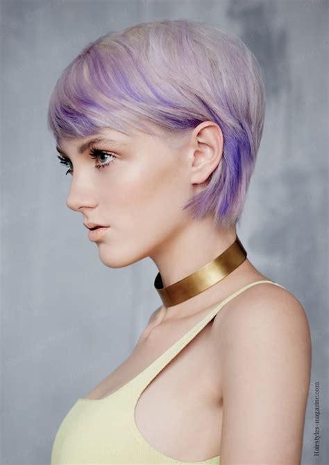 lilac shade bob cut   funky bob haircuts