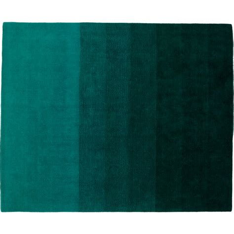 ombre teal rug  cb