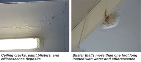 hairline cracks in ceiling paint paintinfo caution notes when new galvanizing fails