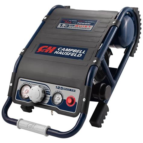 cbell hausfeld 1 3 gallon portable electric horizontal air compressor at lowes