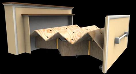 roll up table plans diy murphy beds decorating your small space