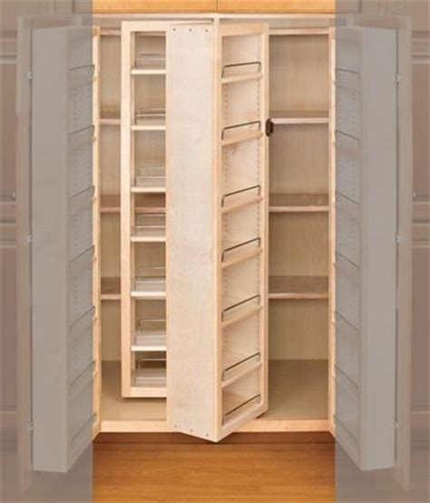 swing out pantry 57 quot pantry swing out w hardware single 4wsp18 57 rev a