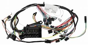 Wiring Harness  Dash  1966 Chevelle  El Camino  Warning