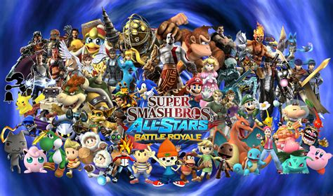 Super Smash Bros All Stars Battle Royal Super Smash