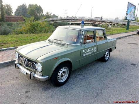 squadra volante vendo alfa romeo giulia 1 6 polizia squadra volante