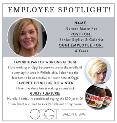 employee spotlight template s new school oggi salon spa page 2