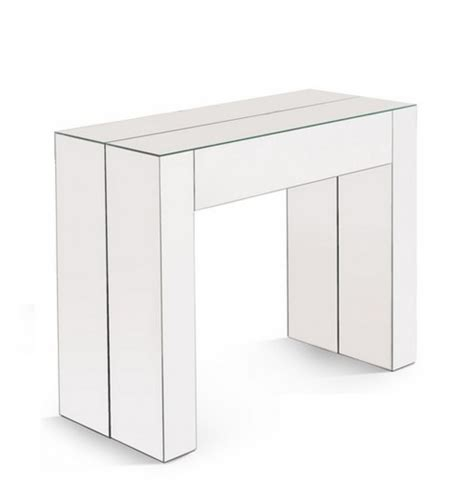 console extensible avec rallonge integree console transformable en table console d entr 233 e