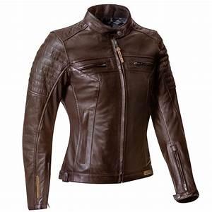 Blouson Moto Vintage Femme : blouson femme ixon torque lady cuir marron moto vintage ce ~ Melissatoandfro.com Idées de Décoration