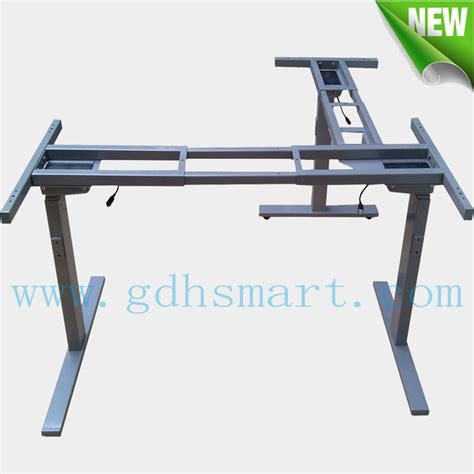 motorized stand up desk executive manager desk adjustable sit to stand up desk