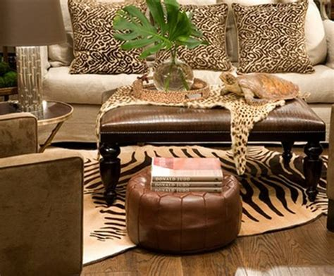 Safari Living Room Decor by 21 African Decorating Ideas For Modern Homes
