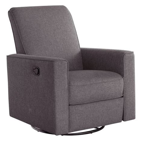 abbyson living hton nursery swivel glider recliner