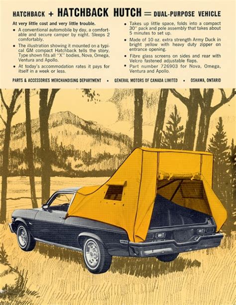 Just A Car Guy: the tent for Omega, Nova, Apollo owners ...
