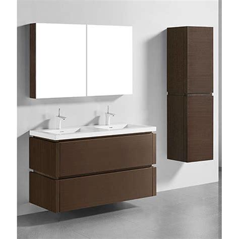 wall mount vanity madeli cube 48 quot wall mounted bathroom vanity for