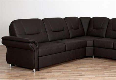 sofa mit bettfunktion und bettkasten wohnlandschaft olaf sofa ecksofa in braun mit bettfunktion und bettkasten ebay