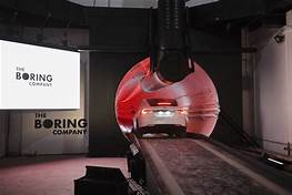 Elon Musk's The Boring Company will build a Las Vegas transport tunnel…