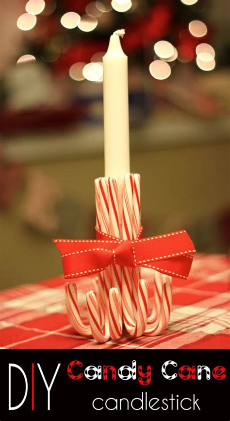 diy candy cane decorations diy projects craft ideas