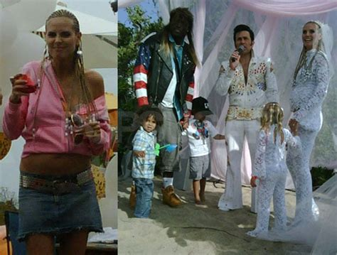 heidi klum  seals trailer trash